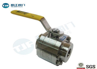 3 Piece High Pressure Ball Valve 150 PSI Saturated Steam Class CF8M / WCB Made