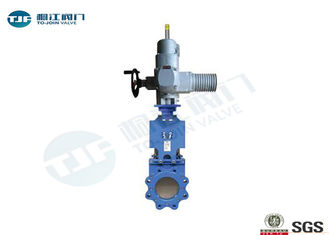 Rising Stem Gate Valve Electric Actuator Operated For Steel Industry