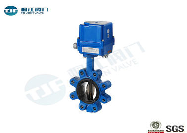 Cast Iron Wafer Butterfly Valve PN10 / PN 16 For Water Source Projects