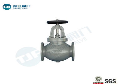 Industrial Cast Steel Marine Globe Valve JIS F7311 5K For Steam Regulating