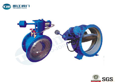 Ductile Iron Butterfly Buffer Stop Check Valve PN 25 Bar For Industrial Water Supply
