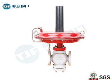 Self Operated Steam Pressure Regulator Valve ANSI Class 600 With Flange RF Ends