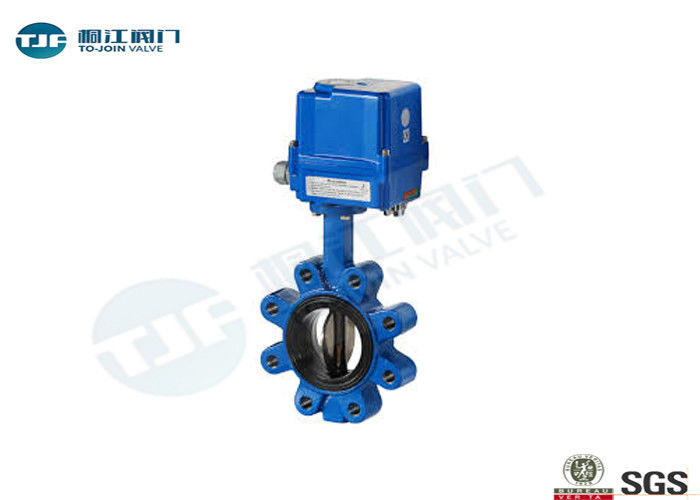 Cast Iron Wafer Butterfly Valve PN10 / PN 16 For Water Source Projects supplier