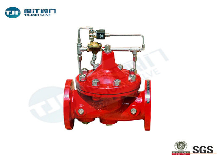 Cast Iron Hydraulic Control Valve PN 10 Bar Class For Fire Protection supplier